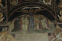 Fresko der Gottesmutter mit Flügeln im Kloster Govora ist weltweit das einzige seiner Art (Foto: Jana Šustová)
