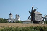 Kloster Celic-Dere mit einer Windmühle (Foto: Jana Šustová)