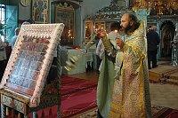 Priester in der altorthodoxen Kirche in Tulcea (Foto: Jana Šustová)