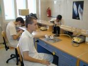 Stomatologická laboratoř na střední zdravotnické škole