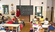 Ve třídě (Foto: Jana Šustová)
