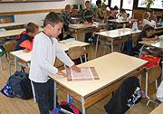 Prvňáčci ve škole (Ilustrační foto: Jana Šustová)