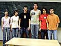 Von links: Schüler des Gymnasiums Voderadska: Zuzka, Tereza, Dan, Martin, Tonda, Ondra (Foto: Autor)