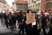 Na cestě centrem Prahy (Foto: Jana Šustová)