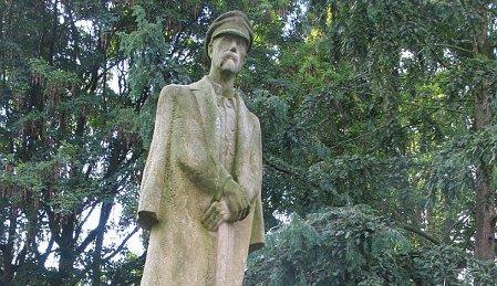 Kopie des Masaryk-Denkmals in Jihlava (Foto: Markéta Kachlíková)