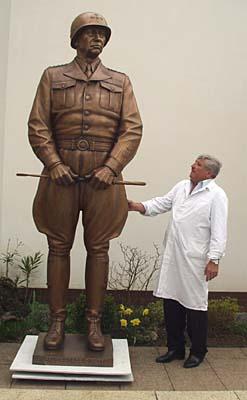 general patton statue becomes a hot potato radio prague