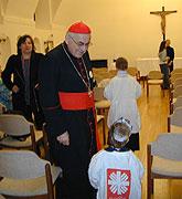 Kardinal Miloslav Vlk (Foto: Autorin)