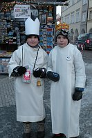 Children taking part in the annual Three Kings collection drive, photo: archive of ČRo 7 - Radio Prague