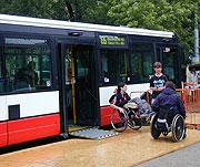 Na vozíku... (Foto: Jana Šustová)