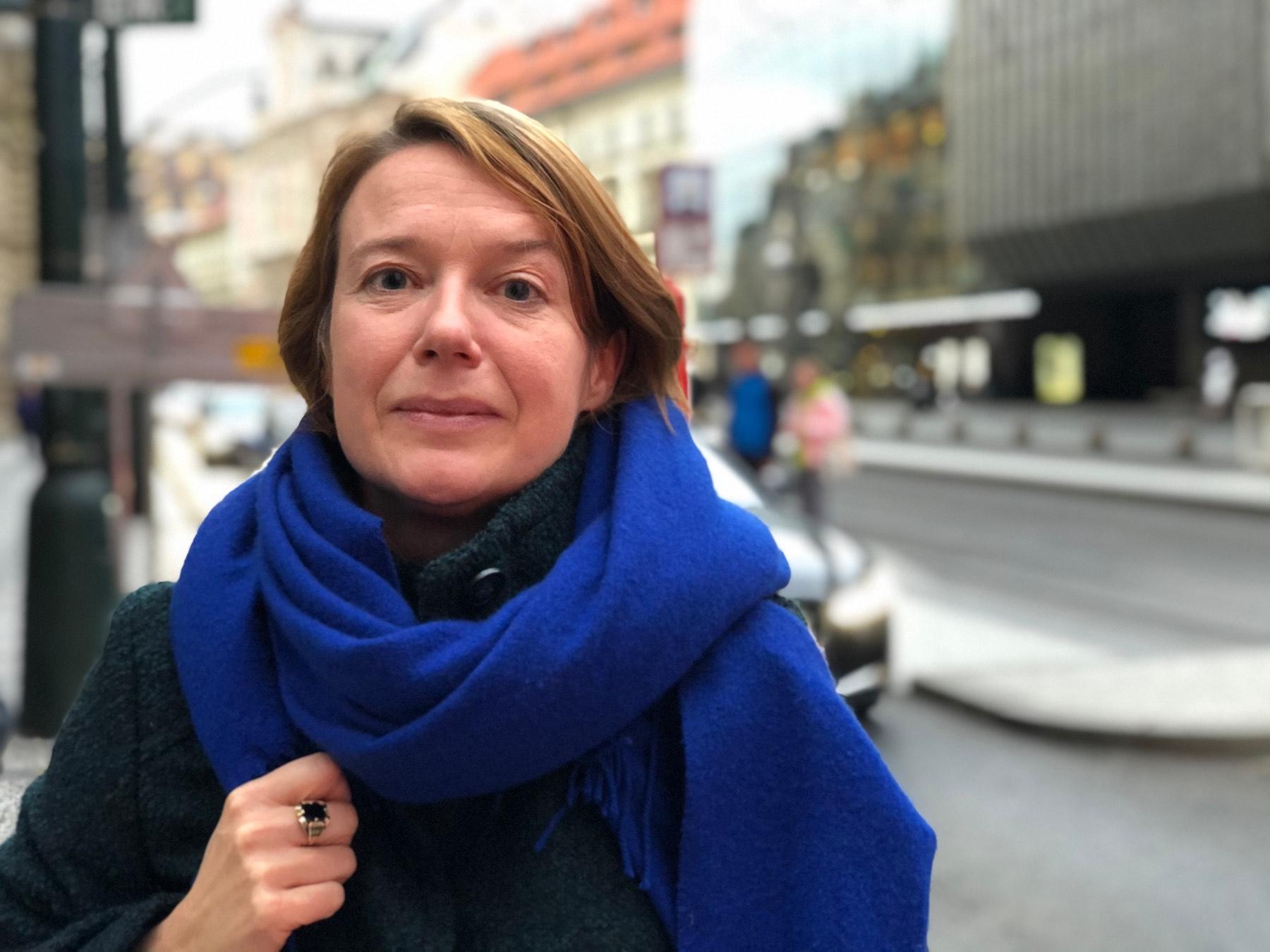 Magdaléna Platzová, photo: Ian Willoughby