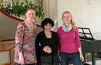 De izquierda: Lucie Guerra Žáková,  Ludovica Mosca  y Petra Žďárská, foto: Ivana Vonderková