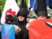 Stoupenci Dělnické strany (Foto: Štěpánka Budková)