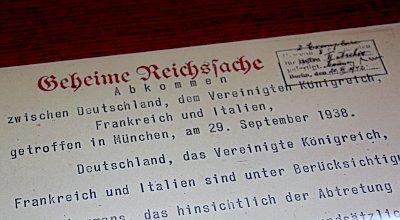 Munich Agreement Was