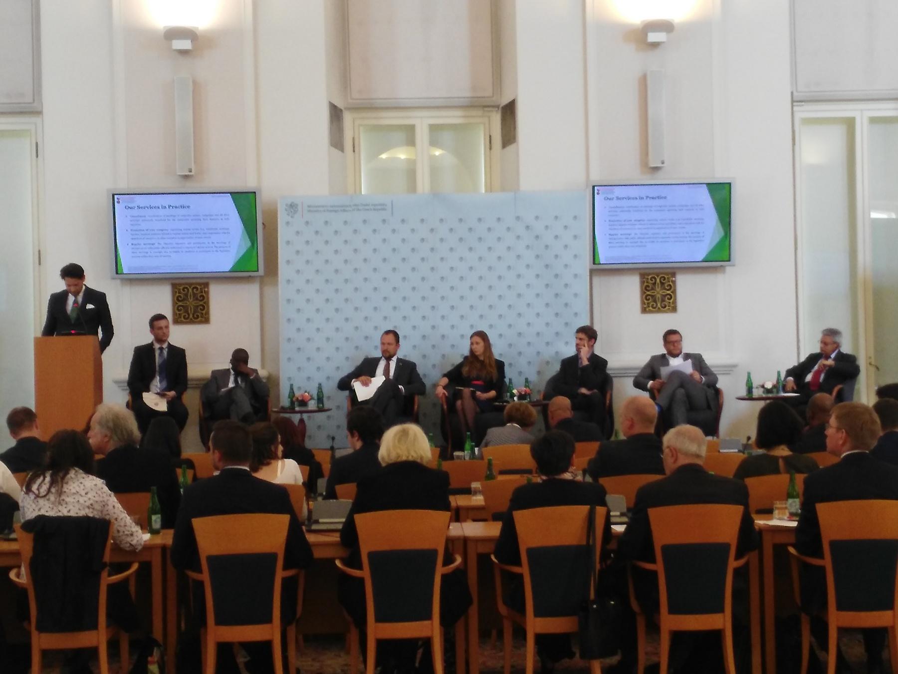 Conferencia 'República Checa y el mundo lusófono', foto: Enrique Molina