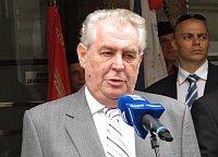 President Miloš Zeman, photo: Kristýna Maková