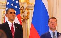 Barack Obama y Dmitri Medvédev, foto: Štěpánka Budková
