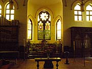Interior of the Jan Hus Church