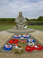 Battle of Britain Memorial, Folkestone, photo: David Vaughan