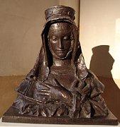 Santa Inés de Bohemia (el busto de J. V. Myslbek), foto: Miloš Turek