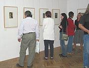 La exposición 'Ojos abiertos' en Príbram (Foto: Autora)
