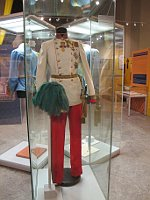 Festliche Uniform von Franz Joseph I. (Foto: Martina Schneibergová)