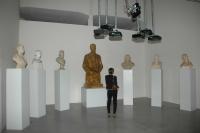 Projekt In/Outsiders Krzysztofa Wodiczky vystavený v pražském DOXu (Foto: Jana Šustová)