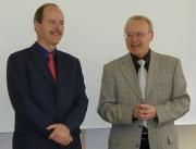 Prof. Stanislav Homolka a MUDr. Jiří Kos (Foto: Jana Šustová)