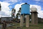 Vodní zásobovací systém vjedné zvesnic vokrese Alaba