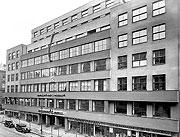 Budova Československého rozhlasu ve 30. letech