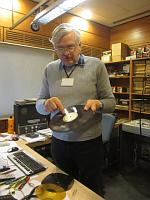 Czech Radio sound engineer Miloslav Turek, photo: Kateryna Dedukh