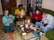 Oběd v rámci projektu Rodina odvedle