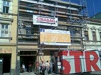 Rekonstrukce sídla nového centra v Brně (Foto: Gabriela Grmolcová)