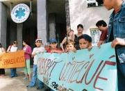 Demonstrace se zúčastnily také děti (Foto: ČTK)