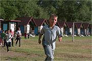 Na táboře o.s. Romodrom