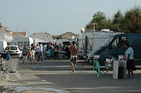 Romové se svými karavany (Foto: Jana Šustová)