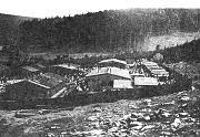Romský tábor v Hodoníně u Kunštátu