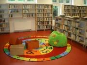 Interiér knihovny před otevřením
