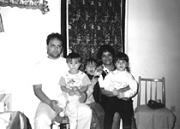 Otto Absolon s rodinou