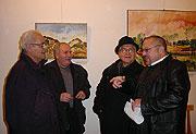 Ian Hancock v Muzeu romské kultury v Brně