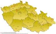 Mapa sociálně vyloučených romských lokalit v ČR