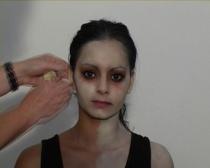 Tamara Moyzes: Miss Roma (během proměny)