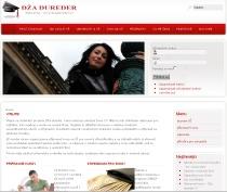 Internetové stránky projektu Dža dureder