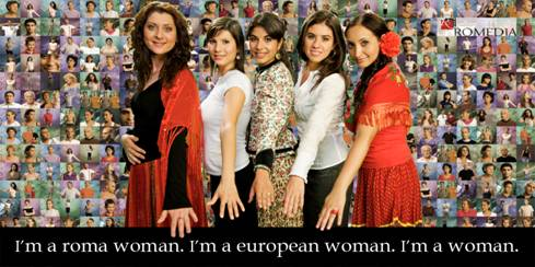 Print Version New Campaign Website Exhorts Roma Women To Speak Out