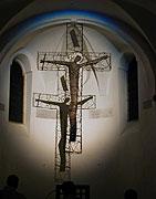 Kříž v kostele sv. Vavřince na Petříně v Praze