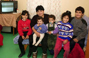 Rodina čekající na vyřízení azylu v ČR (Foto: ČTK)