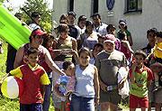 Tábor pořádaný Společenstvím Romů na Moravě (Foto: ČTK)