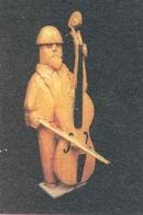 Ján Bartoš - Biskup: Basista, dřevo, 90. léta
