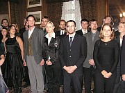 The students awarded by the prize of the Hlávka foundation