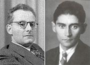Max Brod et Franz Kafka