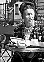 Simone de Beauvoir, photo : Wikimedia Public Domain